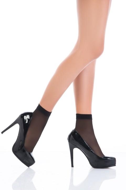 Penti Premier 20 Soket Çorap 500 Siyah (3'lü Paket)