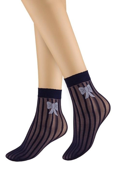 Penti Ribbon Soket Çorap 136 Acık Lacivert (3'lü Paket)