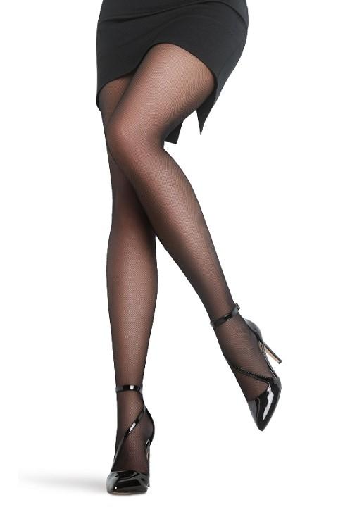 Penti Tül Külotlu Çorap 500 Siyah - (3'lü Paket)