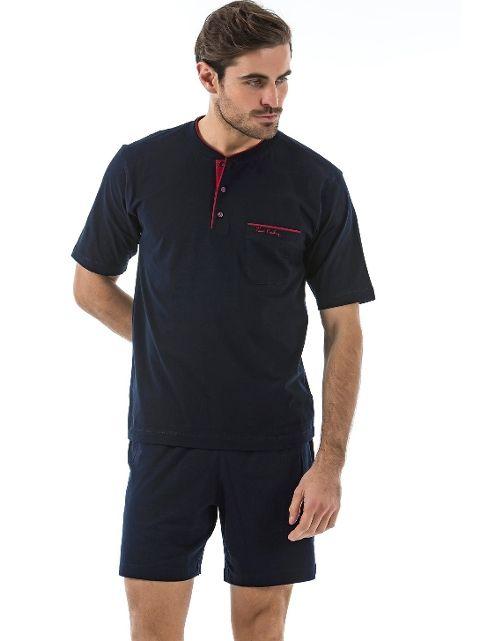 Pierre Cardin 5370 Erkek 3 Lu Pijama Takım