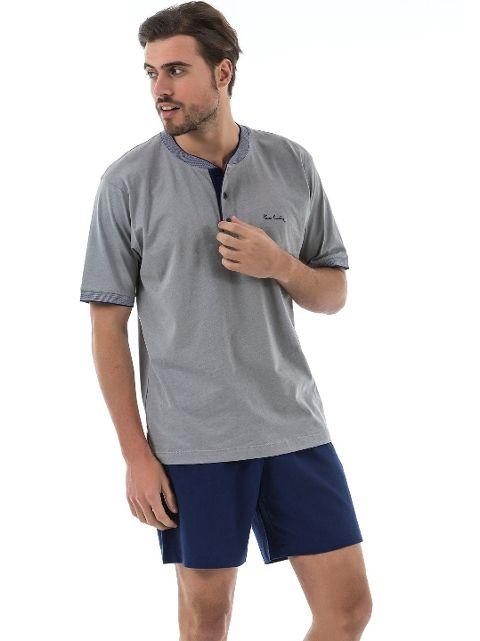 Pierre Cardin 5377 Erkek 3 Lu Pijama Takım