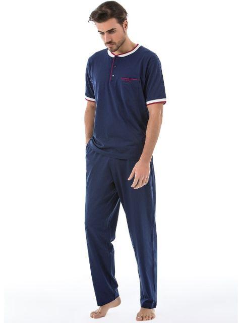 Pierre Cardin 5380 Erkek 3 Lu Pijama Takım