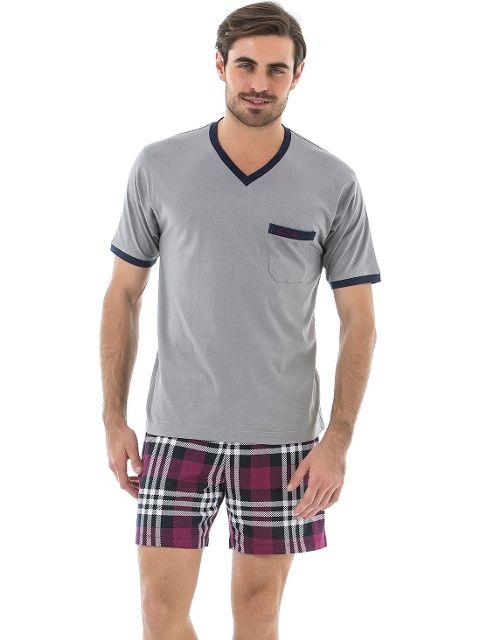 Pierre Cardin 5381 Erkek 3 Lu Pijama Takım