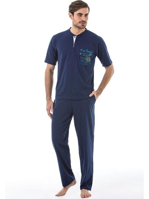Pierre Cardin 5385 Erkek 3 Lu Pijama Takım