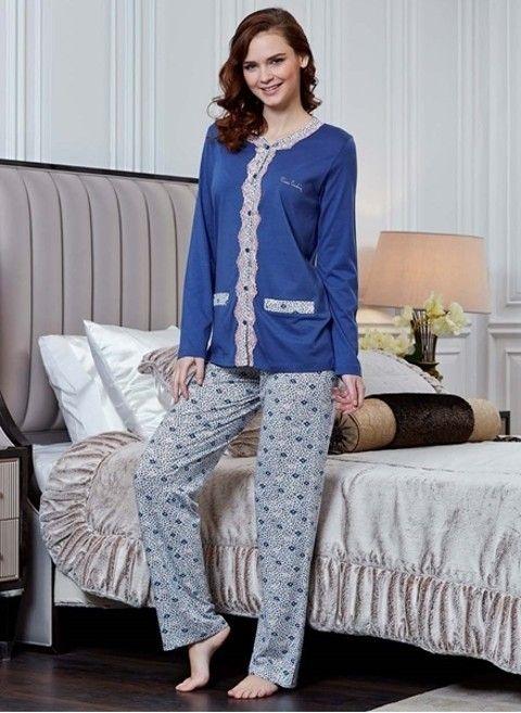 Pierre Cardin 9130 Büyük Beden Pijama Takım