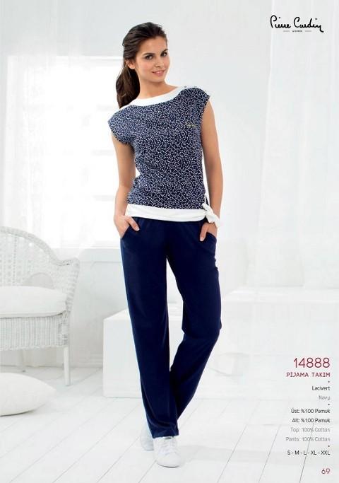 Pierre Cardin Bluz Pantalon Takım 14888