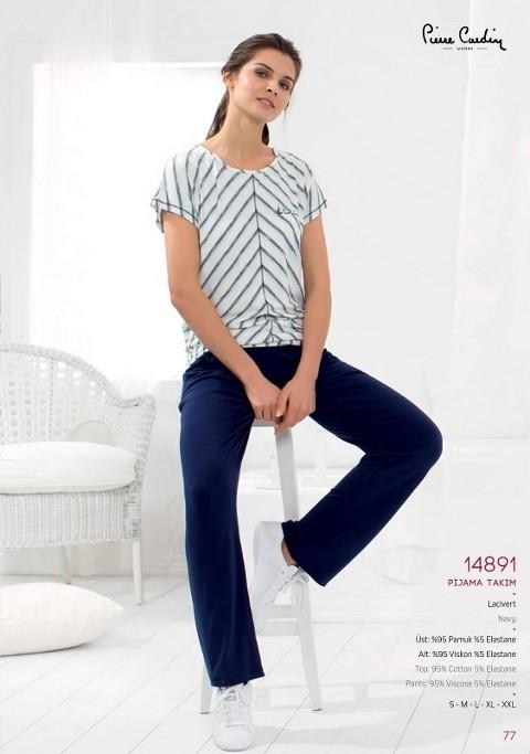 Pierre Cardin Patlı Bol Paça Pantalon Takım 14891
