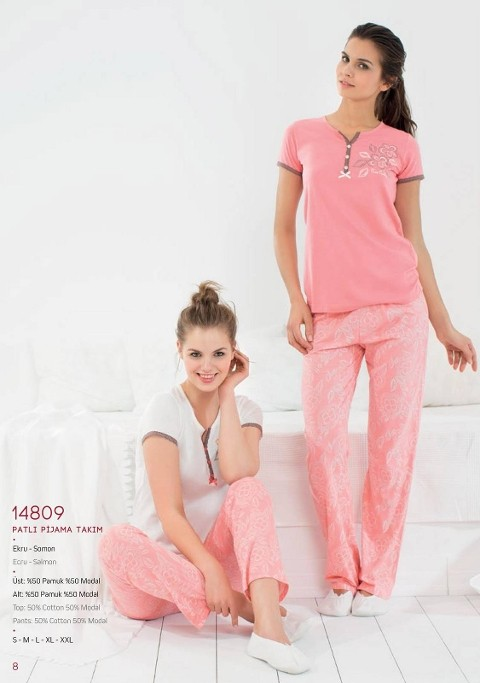 Pierre Cardin Patlı Pijama Takım 14809