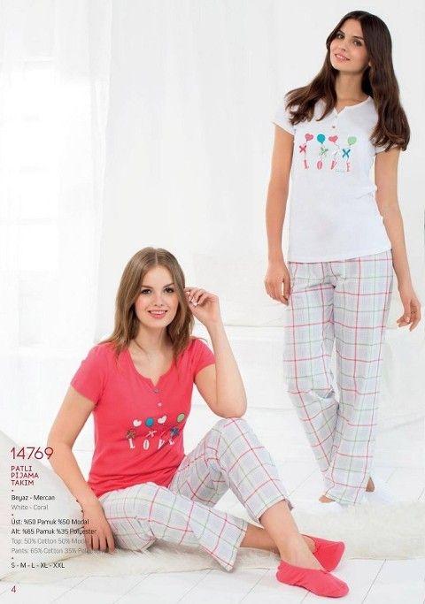 Pierre Cardin Patlı Pijama Takım 14769
