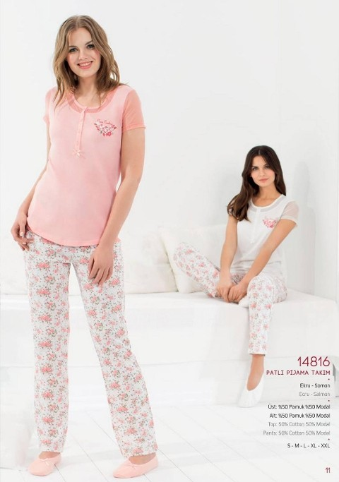 Pierre Cardin Patlı Pijama Takım 14816