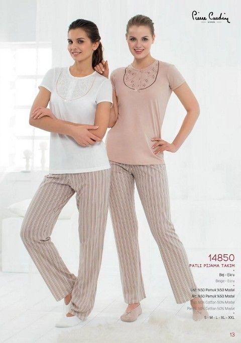 Pierre Cardin Patlı Pijama Takım 14850
