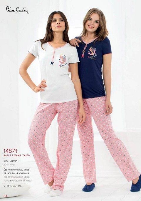 Pierre Cardin Patlı Pijama Takım 14871