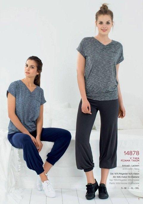 Pierre Cardin V Yaka T.Gümüş Pantalon Takım 14878