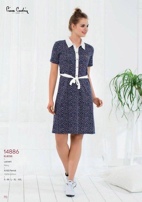 Pierre Cardin Yakalı Elbise 14886