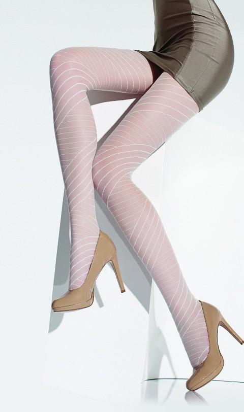 Daymod Pietra Desenli Külotlu Çorap