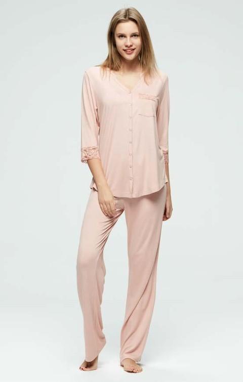 Pijama Takım Günlük Uzun Catherine's 826