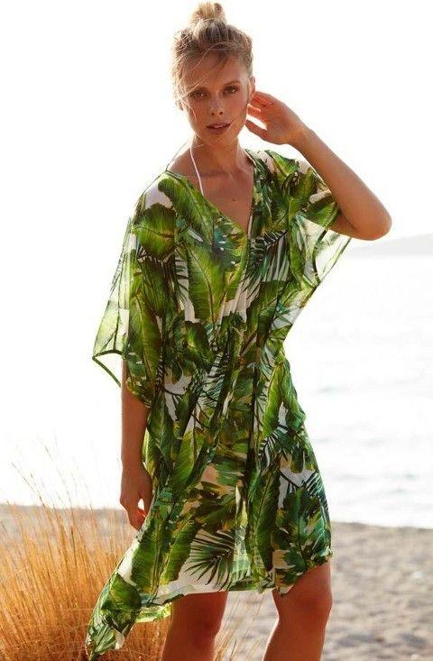 Plaj Elbisesi Plaj Elbise Penye Mood 8310