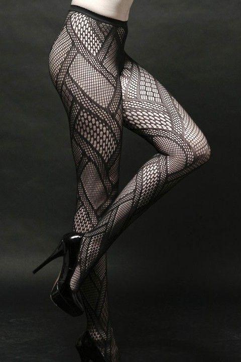 Redhotbest Desenli Seksi Külotlu Çorap