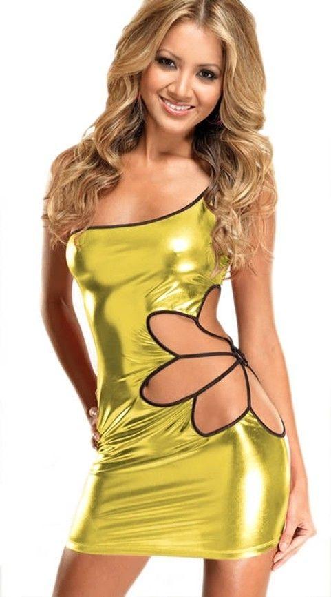 Redhotbest Golden Daisy Club Dress