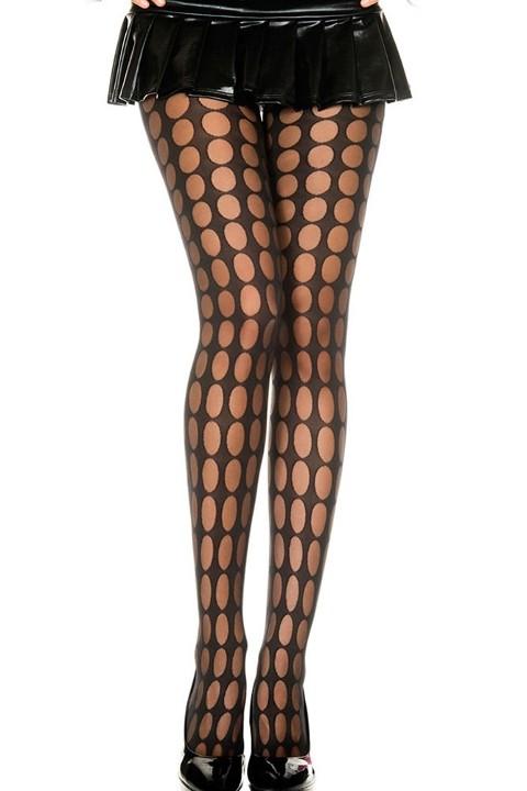 Fantazi Külotlu Çoraplar Redhotbest Puantiyeli Seksi Külotlu Çorap