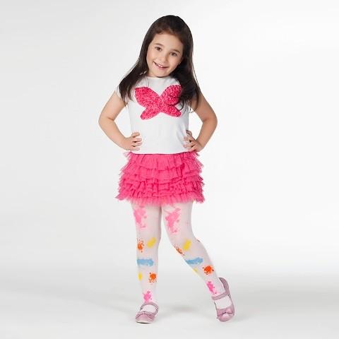 Daymod Rengarenk Çocuk Külotlu Çorap