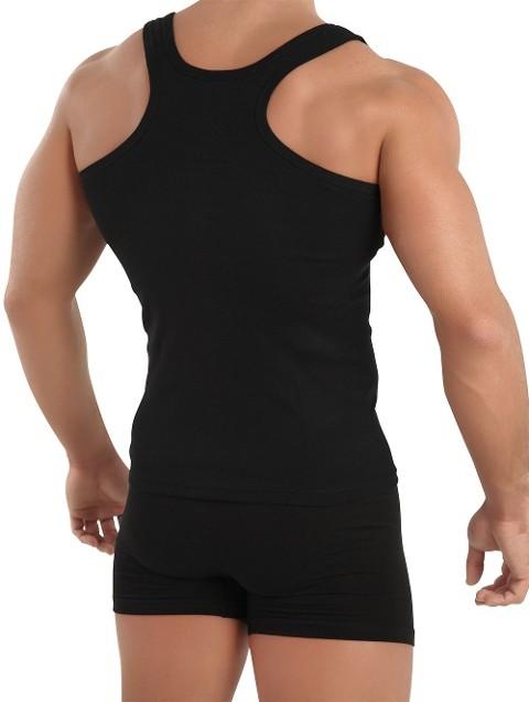 R&m Collection Erkek Ribana Siyah Rambo Atleti 3626