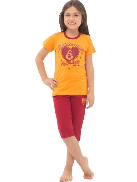 Roly Poly 4475 Galatasaray Kız Çocuk Kapri Takım