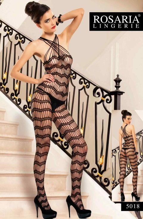 Rosaria 5018 Erotik Vücut Çorabı