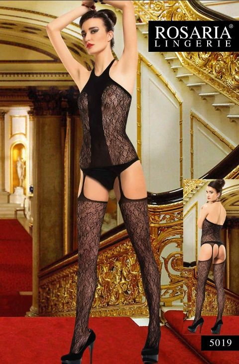 Rosaria 5019 Erotik Vücut Çorabı