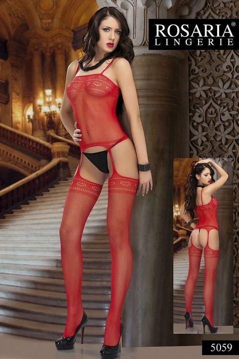Rosaria 5059 Sexy Vücut Çorabı