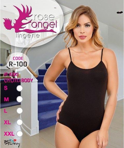 Rose Angel İp Aski Çitçitli Body R-100