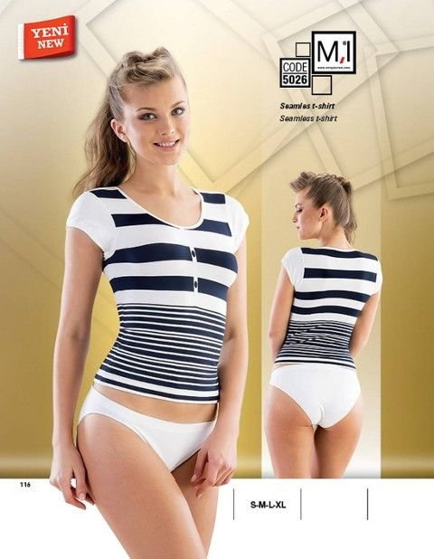 Seamless T-Shirt Emay 5026