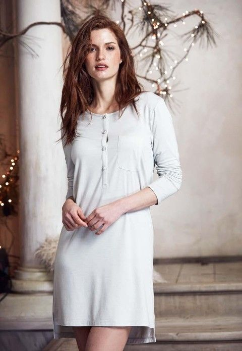 Şık ve Rahat Elbise Penye Mood 8237