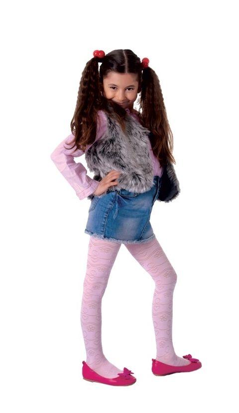 Daymod Simge Desenli Külotlu Çocuk Çorabı