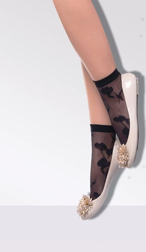 Daymod Stile Desenli Soket Çorap