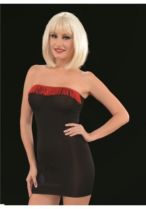 Seksi Mini Elbiseler Süper Mini Elbise Lablinque 6080