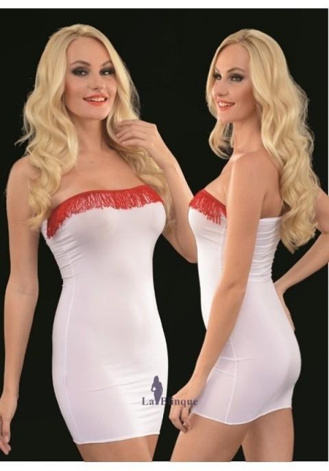 Seksi Mini Elbiseler Süper Mini Elbise Lablinque 6084