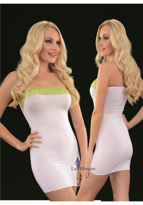 Seksi Mini Elbiseler Süper Mini Elbise Lablinque 6087