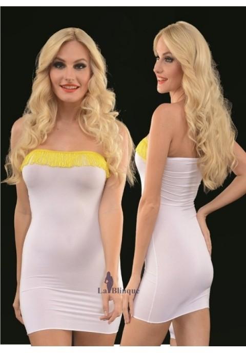 Süper Mini Elbise Lablinque 6088