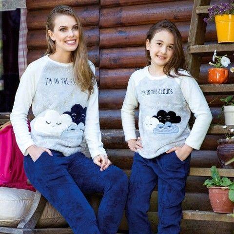 Sweatshirt Pijama Takım Anıl 9473