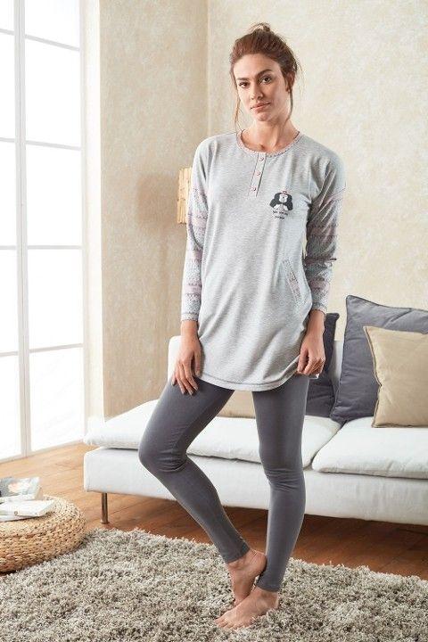 T-Shirt & Pantolon Takım Doreanse 4048