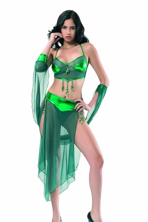 Taşlı Dansöz Kostümü Denizgülü 6160