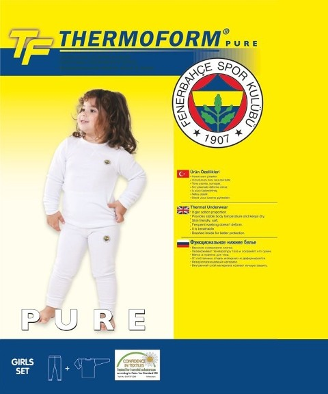 Thermoform Fb Pure Çocuk Termal İçlik (kız)