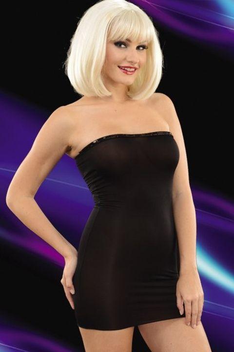 La Blinque Transparan Mini Elbise 6074
