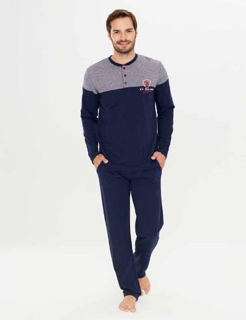 Us. Polo Assn. 17243 Patlı Pijama Takım