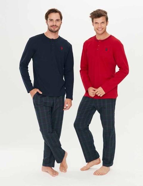 Us. Polo Assn. 17283 Patlı Pijama Takım