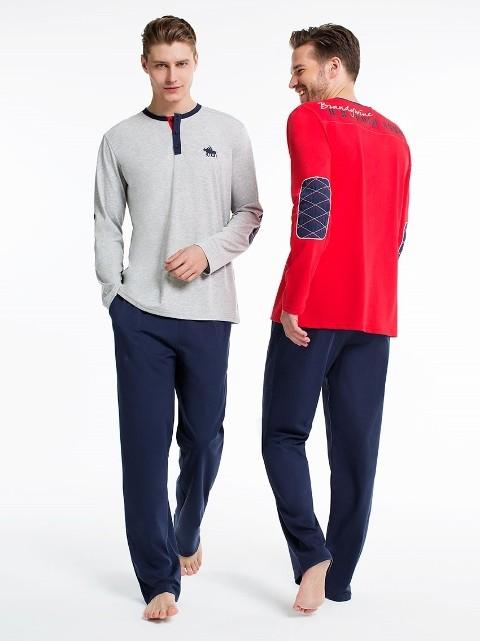 Us Polo Patlı Pijama Takım 17135