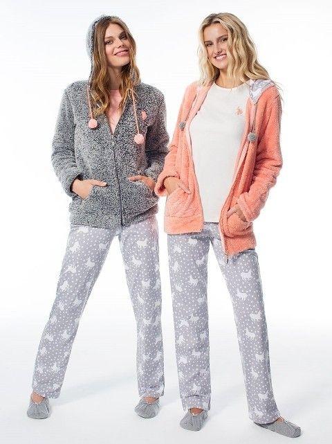 Us Polo Üçlü Polarlı Pijama Takım 15537