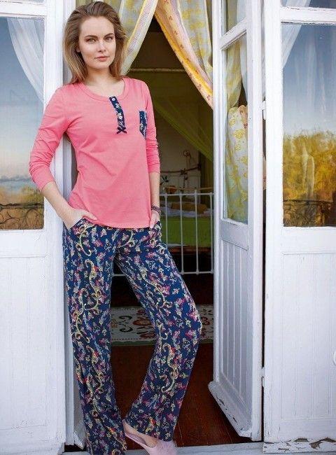 Yeni İnci Desenli Bayan Pijama 810