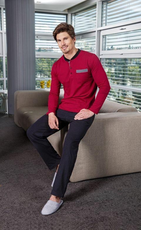 Yeni İnci Süprem 6'lı Erkek Pijama Takım Epj446